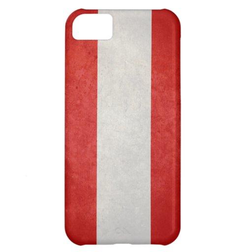 Flag of Austria iPhone 5C Covers