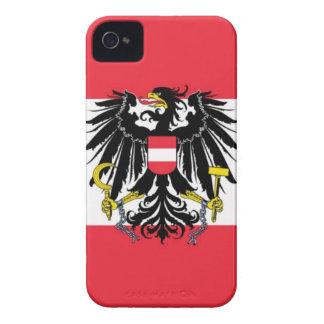 Flag of Austria - Flagge Österreichs iPhone 4 Cases