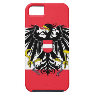 Flag of Austria - Flagge Österreichs iPhone 5 Covers