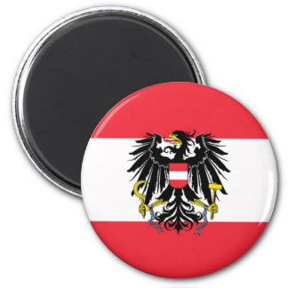 Flag of Austria - Flagge Österreichs Magnet