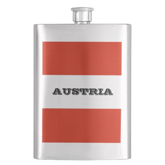 Flag of Austria Flask