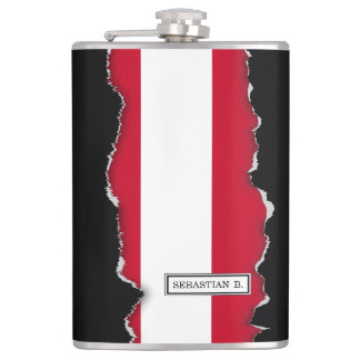 Flag of Austria Flasks