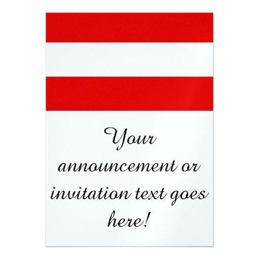 Flag of Austria Invitation