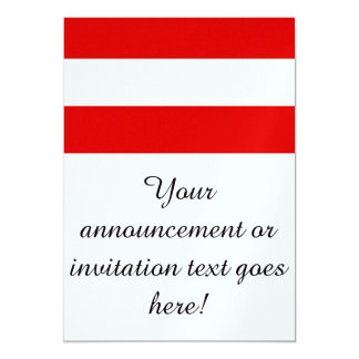 "Flag of Austria 5"" X 7"" Invitation Card"