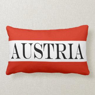 Flag of Austria Lumbar Pillow