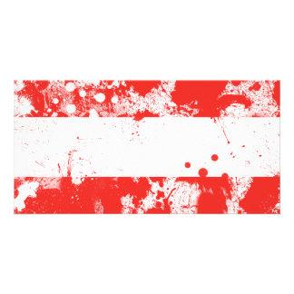 Flag of Austria Photo Greeting Card