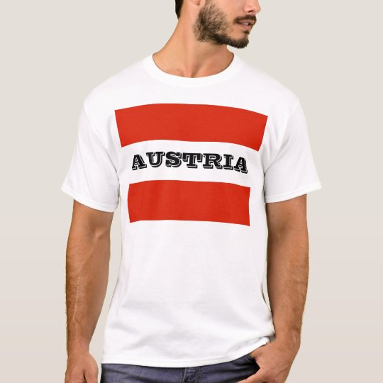 Flag of Austria T-Shirt