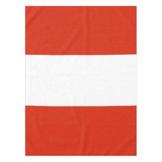Flag of Austria Tablecloth