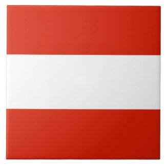 Flag of Austria Tile