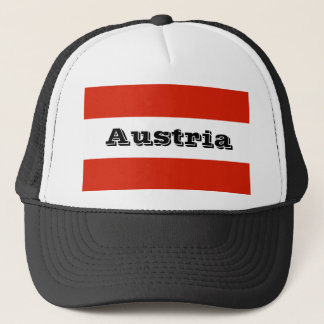 Flag of Austria Trucker Hat