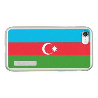 Flag of Azerbaijan Silver iPhone Case