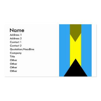 Flag of Bahamas Business Card
