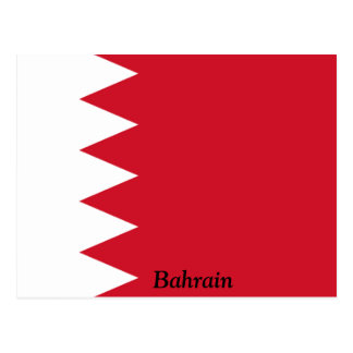 Flag of Bahrain Postcard