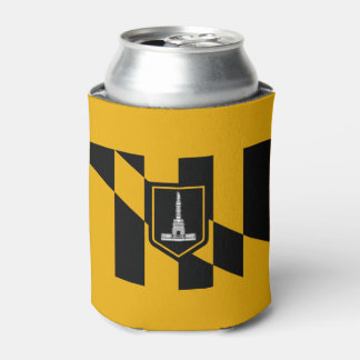 Flag of Baltimore Can Cooler