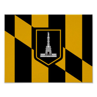Flag of Baltimore Poster