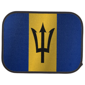 Flag of Barbados Car Mat
