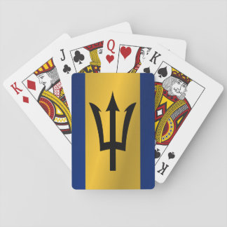 Flag of Barbados Playing Cards