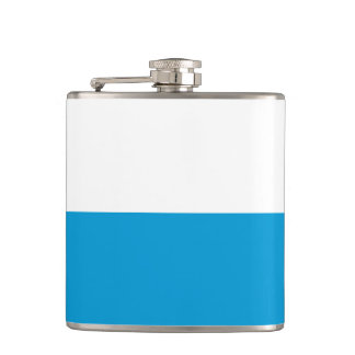 Flag of Bavaria Hip Flask