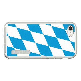 Flag of Bavaria Silver iPhone Case