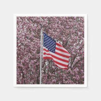 Flag Of Beauty Disposable Napkin