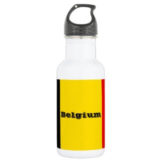 Flag of Belgium 532 Ml Water Bottle