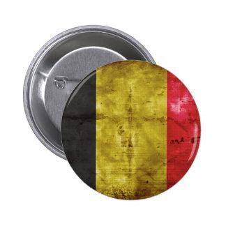 Flag of Belgium 6 Cm Round Badge