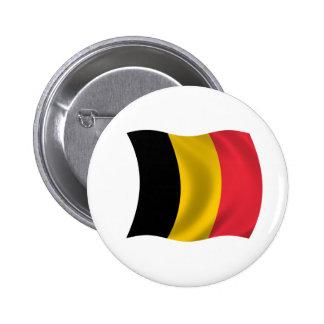 Flag of Belgium Pinback Buttons