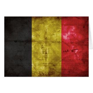 Flag of Belgium Greeting Card