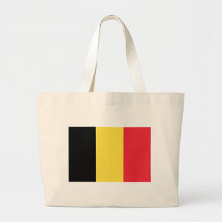 Flag_of_Belgium_(civil) Large Tote Bag