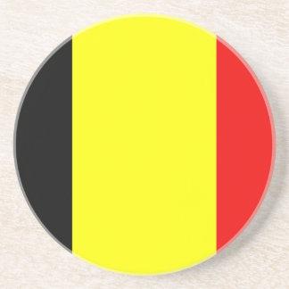 Flag of Belgium Beverage Coasters