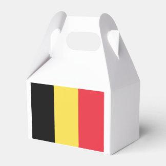 Flag of Belgium Favour Box
