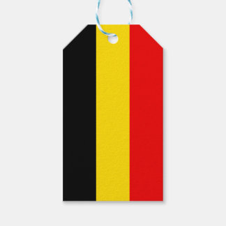 Flag of Belgium Gift Tags