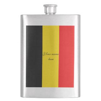 Flag of Belgium Hip Flask