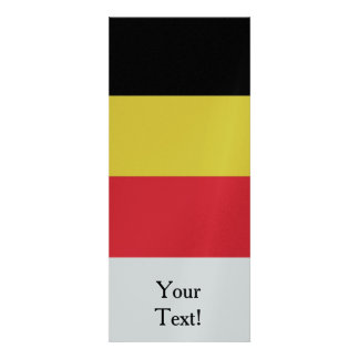 Flag of Belgium Personalized Invitation