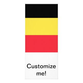 Flag of Belgium Personalized Invites