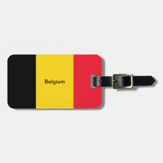 Flag of Belgium Tags For Luggage