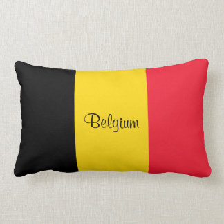 Flag of Belgium Lumbar Cushion