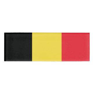 Flag of Belgium Name Tag