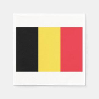 Flag of Belgium Paper Napkins