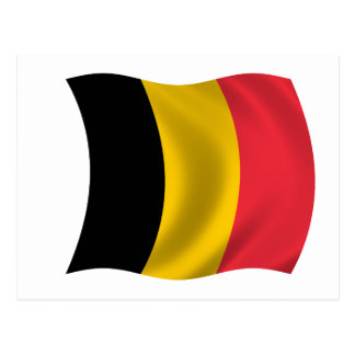 Flag of Belgium Postcard
