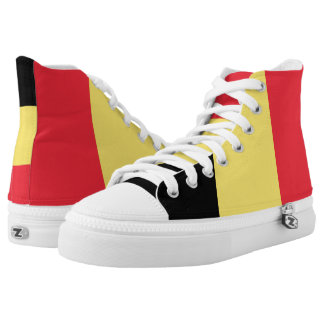 Flag of Belgium Shoes Printed Shoes