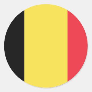 Flag of Belgium Sticker