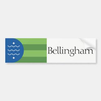 Flag of Bellingham, Washington bumper sticker