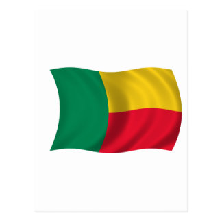 Flag of Benin Postcard