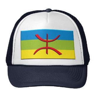 flag of Berbere or Amazigh Cap