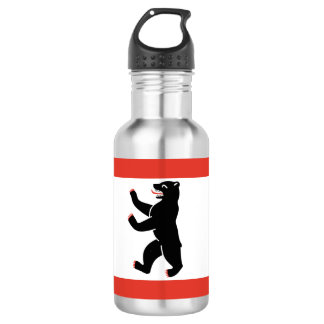 Flag of Berlin 532 Ml Water Bottle
