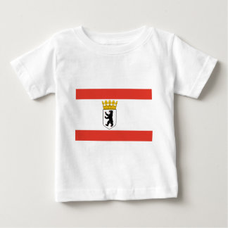 Flag_of_Berlin_ Baby T-Shirt