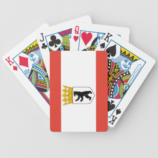 Flag of Berlin Bicycle Playing Cards