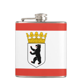 Flag of Berlin Hip Flask