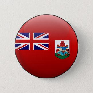 Flag of Bermuda 6 Cm Round Badge